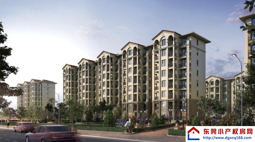 虎门小产权房《丽都花园》5大栋社区开发商发绿本大宁商业街200米宁馨公园0距离
