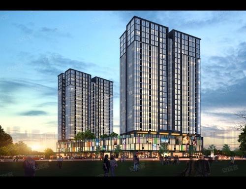 长安小产权房《阳光水岸》零距离深圳沙井松岗长安-长安市场0距离就在楼下